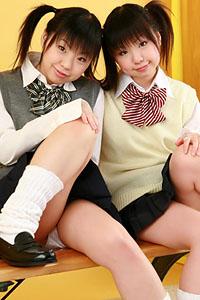 Twins Airi and Meiri