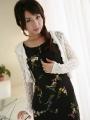Office lady Tomoe Hinatsu is posing_08