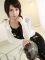 Office lady Tomoe Hinatsu is posing_10